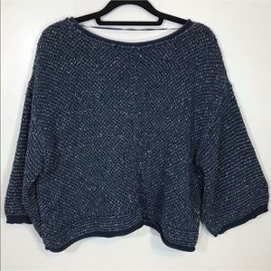 Free People Chunky Knit Crop Top